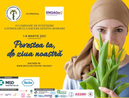 Povestea ta, de ziua noastră – Campanie de susținere a femeilor cu cancere genito-mamare