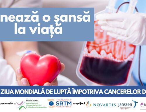 Campanie de Informare despre Cancerele de Sange 2021